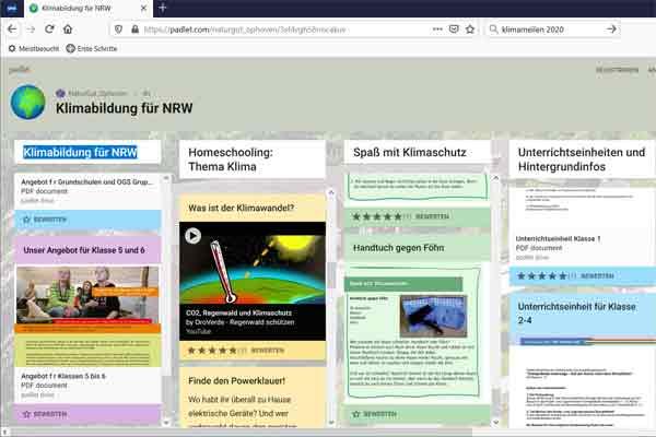 Unsere Homeschooling-Plattform