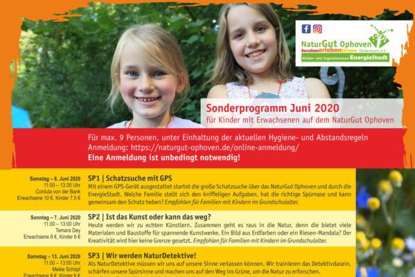Sonderprogramm Juni 2020