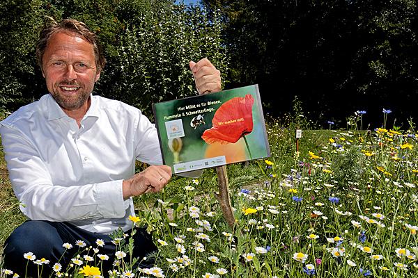 """""""Hier blüht es für Bienen, Hummeln und Schmetterlinge!"""""""