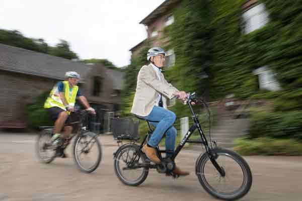 NaturGut Ophoven stellt Fahrrad-leasing für Unternehmer und Selbstständige vor