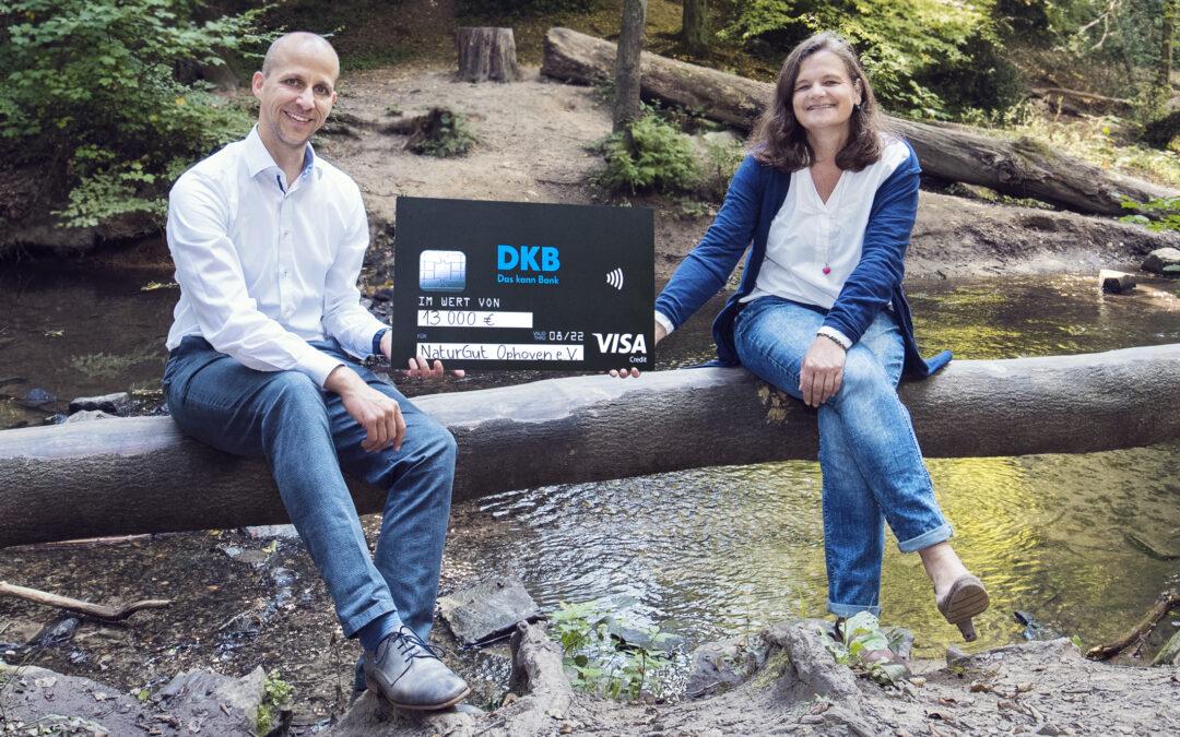 DKB erfüllte Herzenswunsch: NaturGut Ophoven erhält Spende von 13.000 Euro