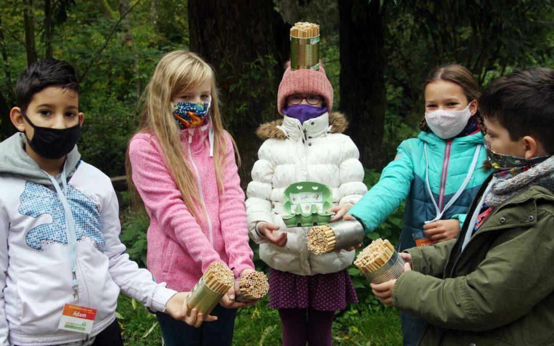 26 Grundschüler besuchen Herbstakademie auf dem NaturGut Ophoven