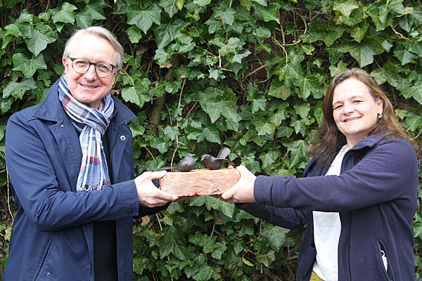 Ehrenamtspreis des NaturGuts Ophoven an Dirk Janetzky