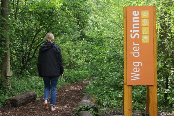 NaturGut Ophoven erneuert den Pfad der Sinne