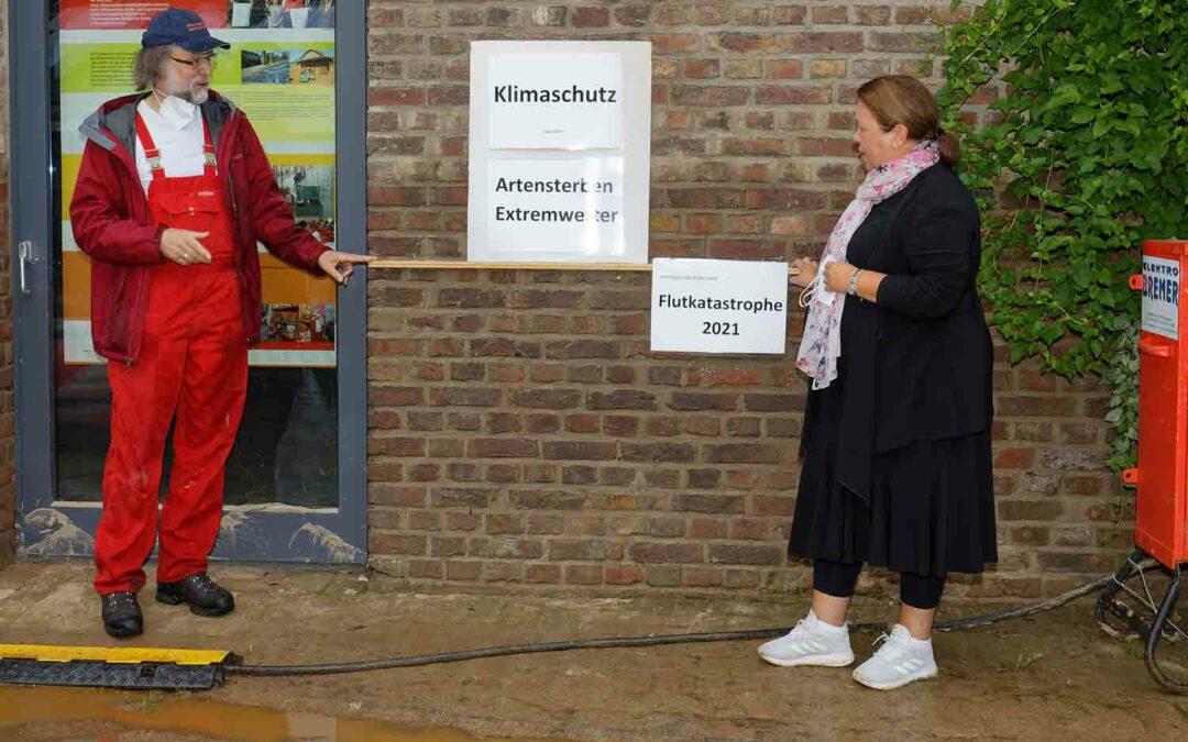 NRW-Umweltministerin besuchte das NaturGut Ophoven