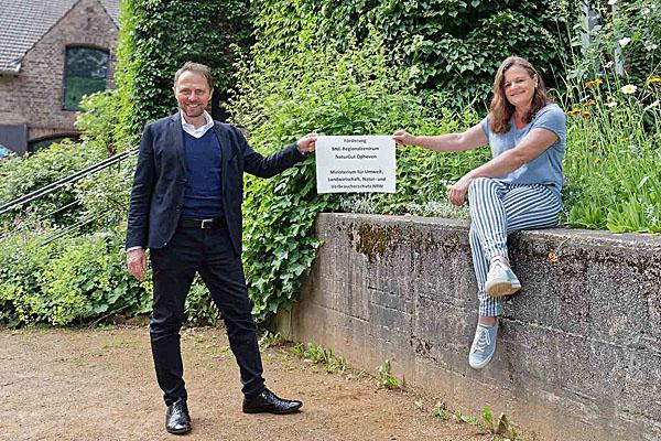 NRW-Umweltministerium fördert Bildung für nachhaltige Entwicklung in Leverkusen