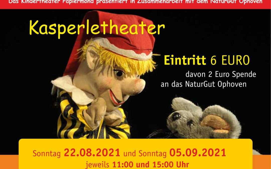 Puppentheater auf dem NaturGut Ophoven